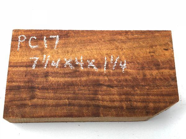 Hawaiian Koa Board Curly 5/4 #PC-17