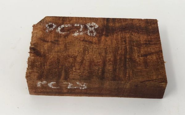 Hawaiian Koa Board Curly 4/4 #PC-28