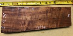 Hawaiian Koa Board Curly Chocolate 4/4 #M-74