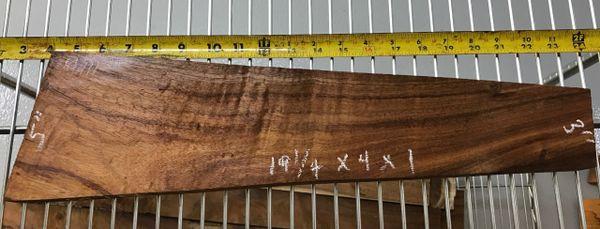 Hawaiian Koa Board Curly Chocolate 4/4 #M-111