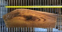 Hawaiian Koa Board Curly 1 1/8 #M-131