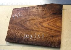 Hawaiian Koa Board Curly 4/4 #P-92