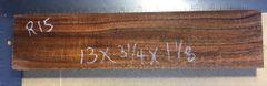 Hawaiian Koa Board Curly 1 1/8 #R-15