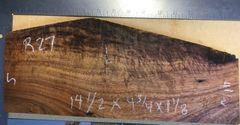 Hawaiian Koa Board Curly 1 1/8 #R-27