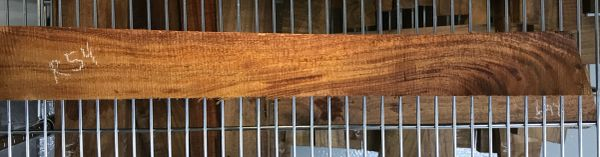 Hawaiian Koa Board Curly 1 1/8 #R-54