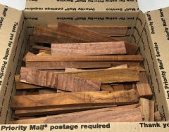Hawaiian Koa scraps for crafts / jewelry makers!