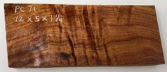 Hawaiian Koa Board Curly 5/4 #PC-71