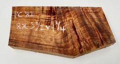 Hawaiian Koa Board Curly 5/4 #PC-82