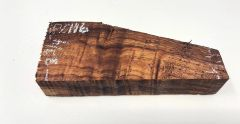 Hawaiian Koa Board Curly 5/4 #PC-116