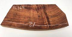 Hawaiian Koa Board Curly 5/4 #PC-125