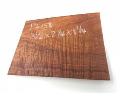 Hawaiian Koa Board Curly 5/4 #PC-158