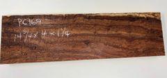 Hawaiian Koa Board Curly 5/4 #PC-169