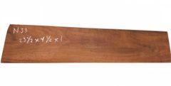 Hawaiian Koa Board Curly 4/4 #N-33