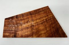 Hawaiian Koa Board Curly 5/4 #C-14