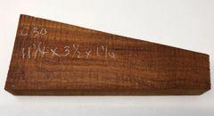 Hawaiian Koa Board Curly 5/4 #C-30