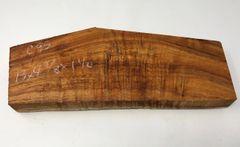 Hawaiian Koa Board Curly 5/4 #C-95
