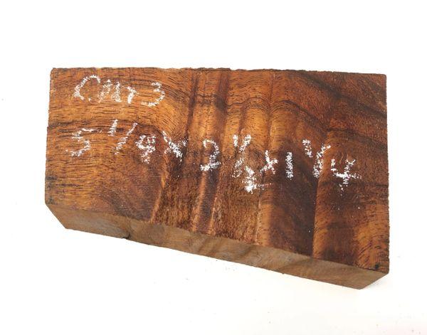 Hawaiian Koa Board Curly 5/4 #C-103