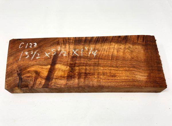 Hawaiian Koa Board Curly 5/4 #C-127