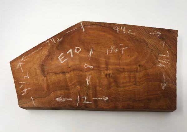 Hawaiian Koa Board Curly 5/4 #E-70