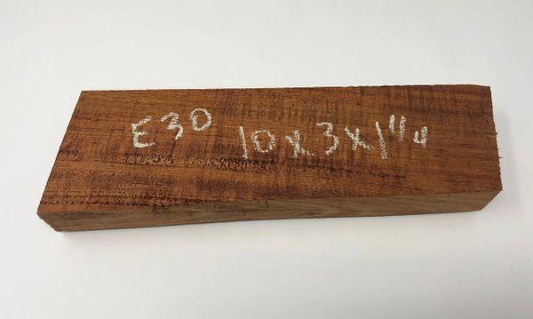 Hawaiian Koa Board Curly 5/4 #E-30