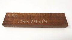 Hawaiian Koa Board Curly 5/4 #E-122