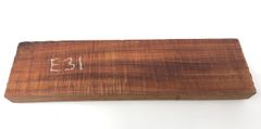 Hawaiian Koa Board Curly 4/4 #E-31