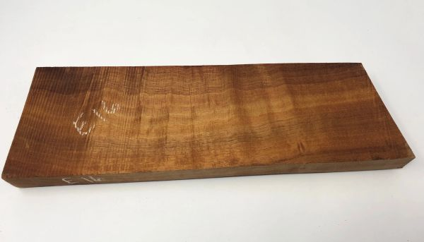 Hawaiian Koa Board Curly 1 1/8 #E-16