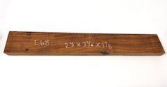 Hawaiian Koa Board Curly 1 1/8 #E-68