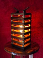 Hawaiian Koa Table Lamp