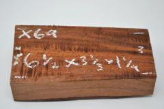 Hawaiian Koa Board Curly 1 1/4 #X-69
