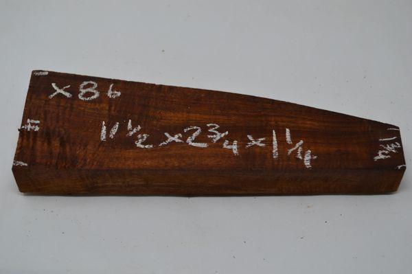 Hawaiian Koa Board Curly 1 1/4 #X-86