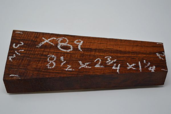 Hawaiian Koa Board Curly 1 1/4 #X-89