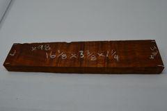 Hawaiian Koa Board Curly 1 1/4 #X-98