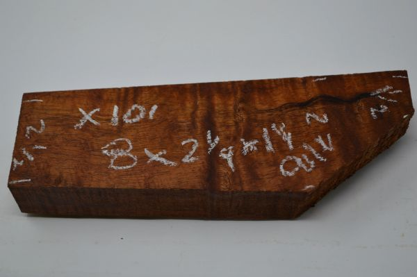 Hawaiian Koa Board Curly 1 1/4 #X-101