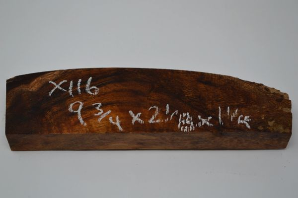 Hawaiian Koa Board Curly 1 1/4 #X-116