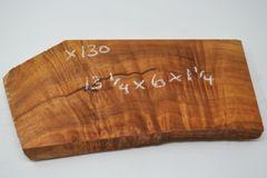 Hawaiian Koa Board Curly 1 1/4 #X-130