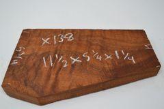 Hawaiian Koa Board Curly 1 1/4 #X-138