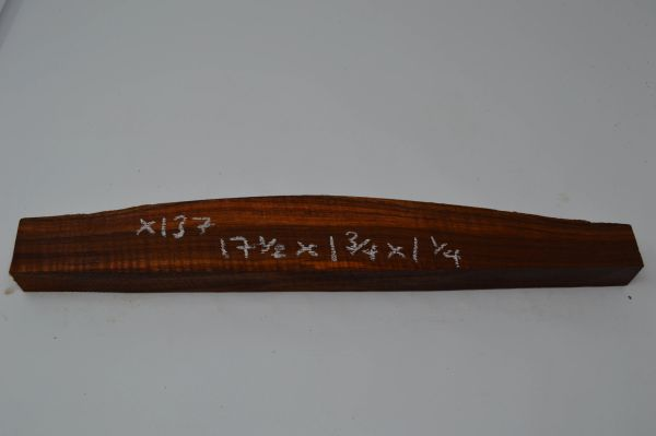Hawaiian Koa Board Curly 1 1/4 #X-137