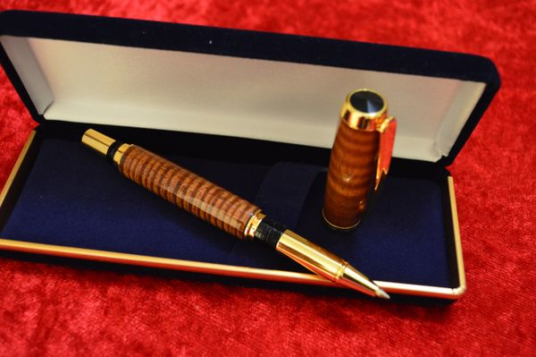 Hawaiian Koa Commissioner Pen