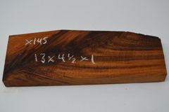 "Hawaiian Koa Board Curly 1"" thick #X-145"