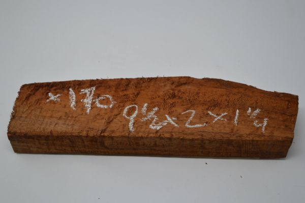 Hawaiian Koa Board Curly 1 1/4 #X-170