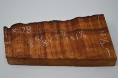 Hawaiian Koa Board Curly 1 1/4 #X-178