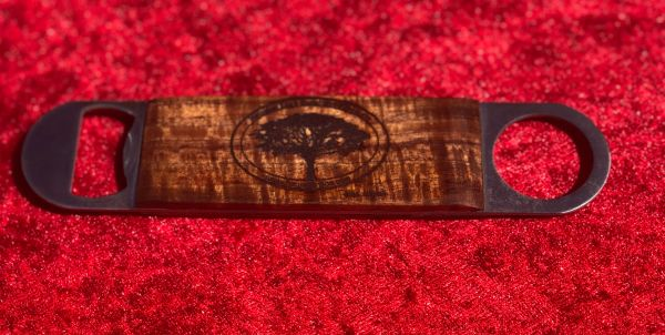Curly Koa Bottle Opener (Logo)