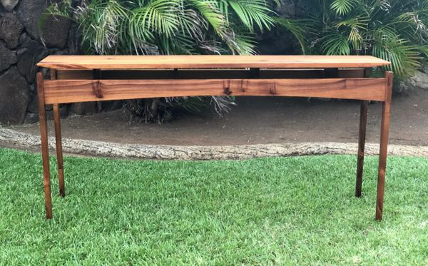 Hawaiian Koa Floating Top Table