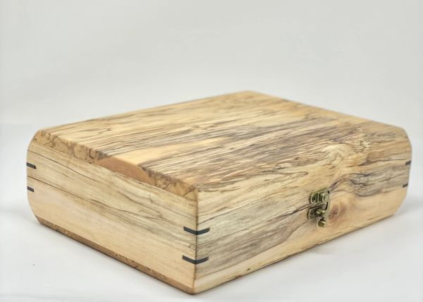 Spalted Silver Maple Box with Kaizen foam inserts