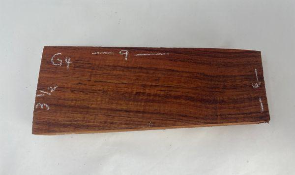 Hawaiian Koa Board Curly 1 1/4 #G-4