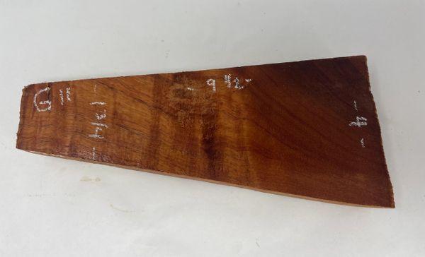 Hawaiian Koa Board Curly 1 1/4 #G-11