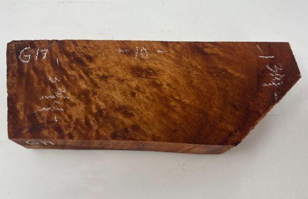 Hawaiian Koa Board Curly 1 1/4 #G-17