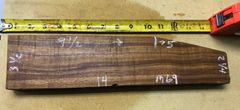 Hawaiian Koa Board Curly Chocolate 4/4 #M-69