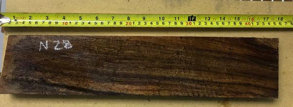 Hawaiian Koa Board Curly 4/4 #N-28